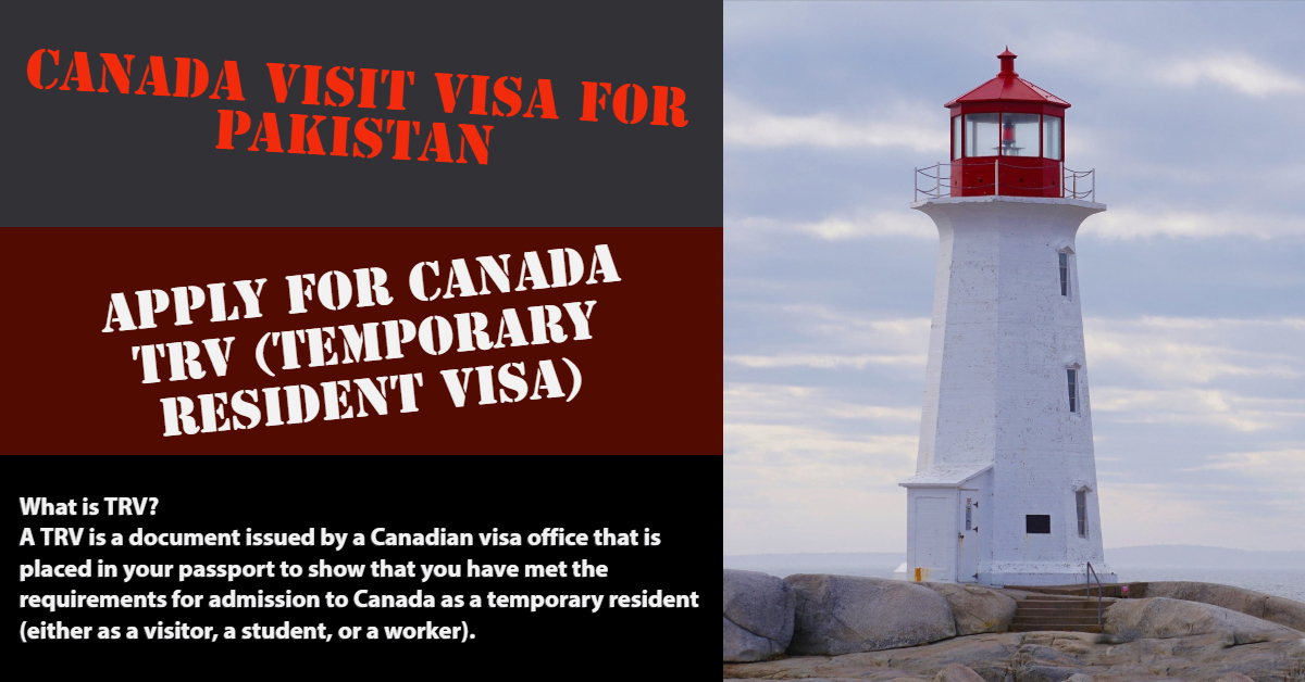 canada visitor visa from pakistan